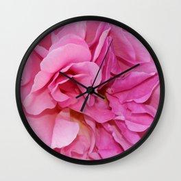 Rose Fleur Wall Clock