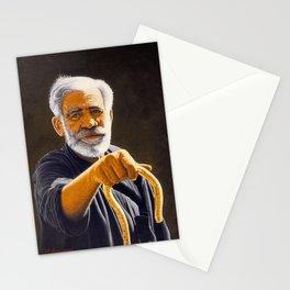 Portrait of Cretan man Stationery Cards