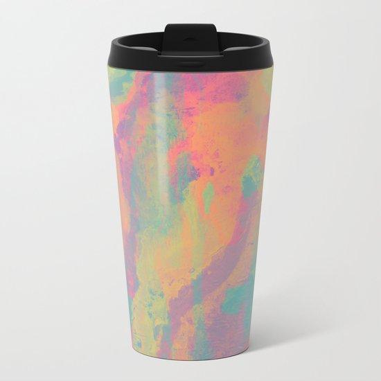 Neon marble II Metal Travel Mug