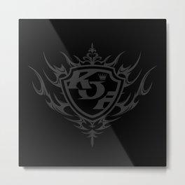 KOF XIV Logo Metal Print