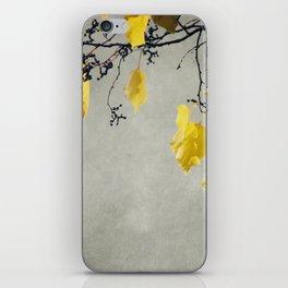 Branche D'Automne iPhone Skin