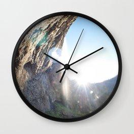 Life Between The Trees Wall Clock
