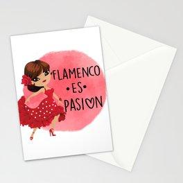 flamenco es pasion Stationery Cards