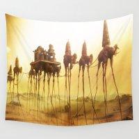 dali Wall Tapestries featuring -Caravan Dali- by Aram Vardazaryan