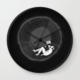 Feel calm and peaceful Wall Clock