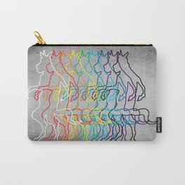 Rainbow Unicorn V02 Carry-All Pouch