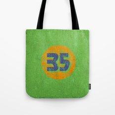 Vintage 35 Circle Tote Bag