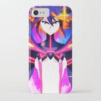 kill la kill iPhone & iPod Cases featuring Kill La Kill | Ryuko by moxie2D