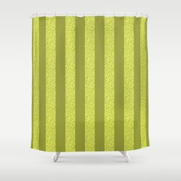 GLITTER STRIPES Shower Curtain