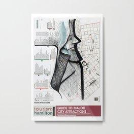 HAMILTON, ONTARIO Metal Print