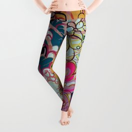 Feather Head Leggings