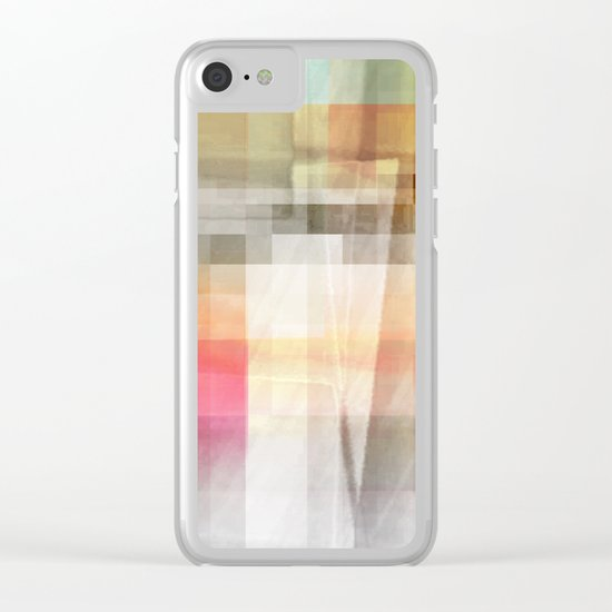 up ahead Clear iPhone Case