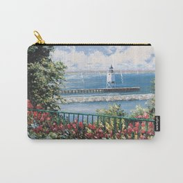 Charlevoix Lighthouse Carry-All Pouch