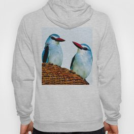 Woodland Kingfisher chit chat Hoody