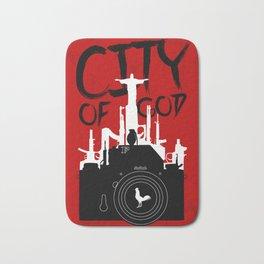 City of God - Minimal Movie Fanart Alternative Bath Mat
