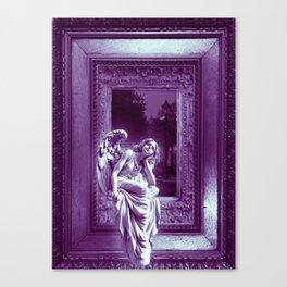 Angel of Bristol (Purple) Canvas Print