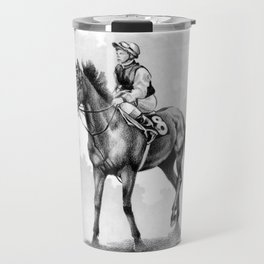 About To Play Up - Racehorse Travel Mug