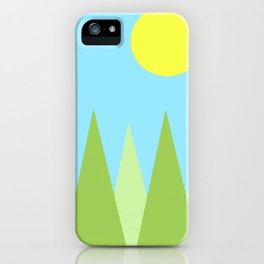 Sunny Day Happy Painting | For kids! iPhone Case