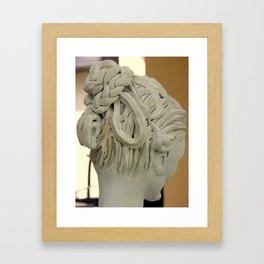 """Plaited"" by ICA PAVON Framed Art Print"