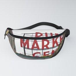 Public Market Sign Fanny Pack