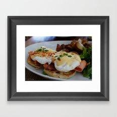 Eggs Benedict Framed Art Print