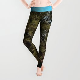 Olive Tree Leggings