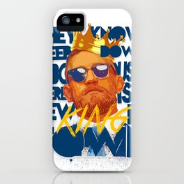 King of the Ring iPhone Case