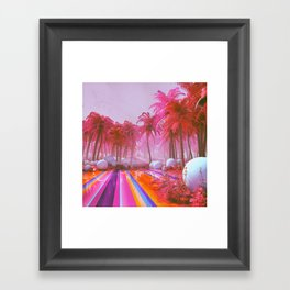 THERMAL WINTER (everyday 02.08.18) Framed Art Print