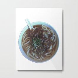 Udon Noodle Soup Metal Print