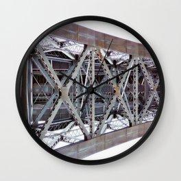 Bridge over the River Douro Wall Clock