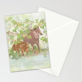 A day in the rain   Miharu Shirahata Stationery Cards