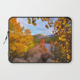 Fall In The Rocky Mountains Laptop Sleeve