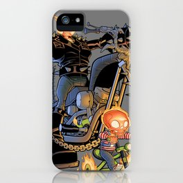 Ghost Rider and Son iPhone Case