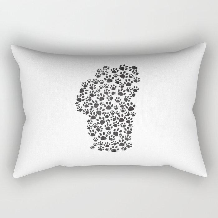 Happy Tails Rectangular Pillow