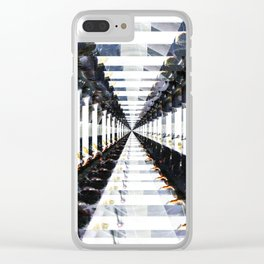 Subway Clear iPhone Case