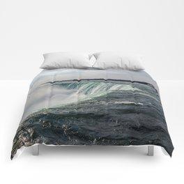 Water waterfall 5 Comforters