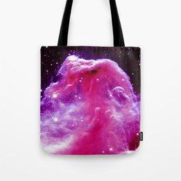Horsehead Nebula Pink & Purple Tote Bag