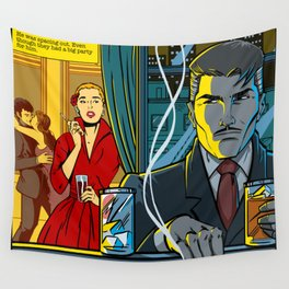 Spacing out Wall Tapestry