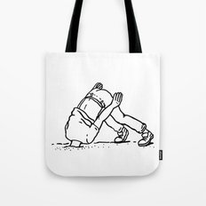 Is it over yet? Tote Bag