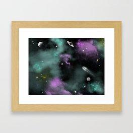 Deeep Space Framed Art Print