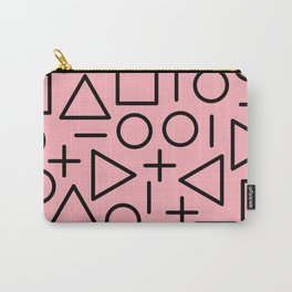 Memphis pattern 70 Carry-All Pouch