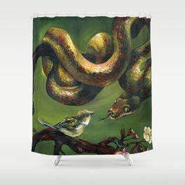 Unlikely Friends Shower Curtain
