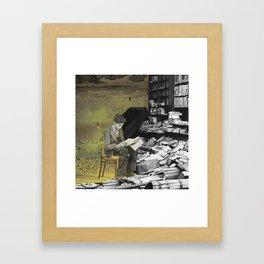 Reader Framed Art Print