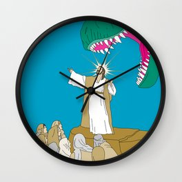 Jesus, Etc. Wall Clock