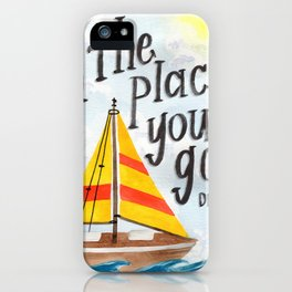 Oh the Places You'll Go - Dr. Seuss iPhone Case