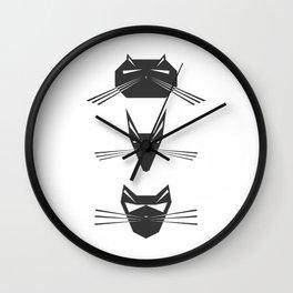 Robocats Wall Clock