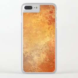 Color Abstract Clear iPhone Case