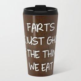 Farts Are Ghost Travel Mug