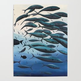 School of Fish Poster