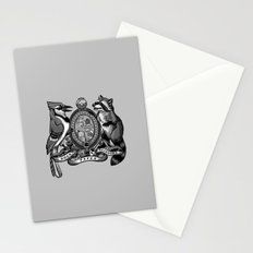 Regular Crest Stationery Cards